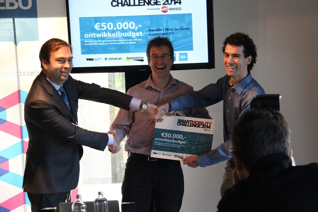 Persbericht Roudle wint Smart Mobility Challenge